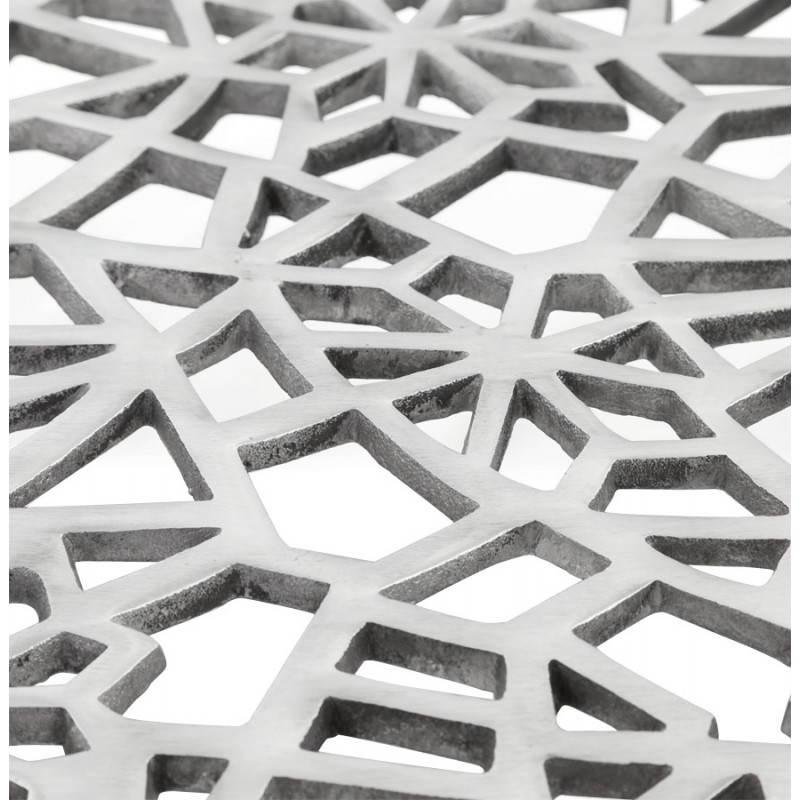 Mesa de centro cuadrada dama en aluminio  - image 21786