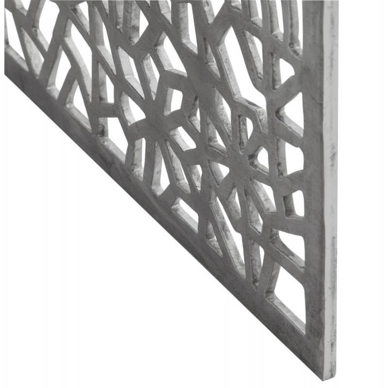 Mesa de centro cuadrada dama en aluminio  - image 21789
