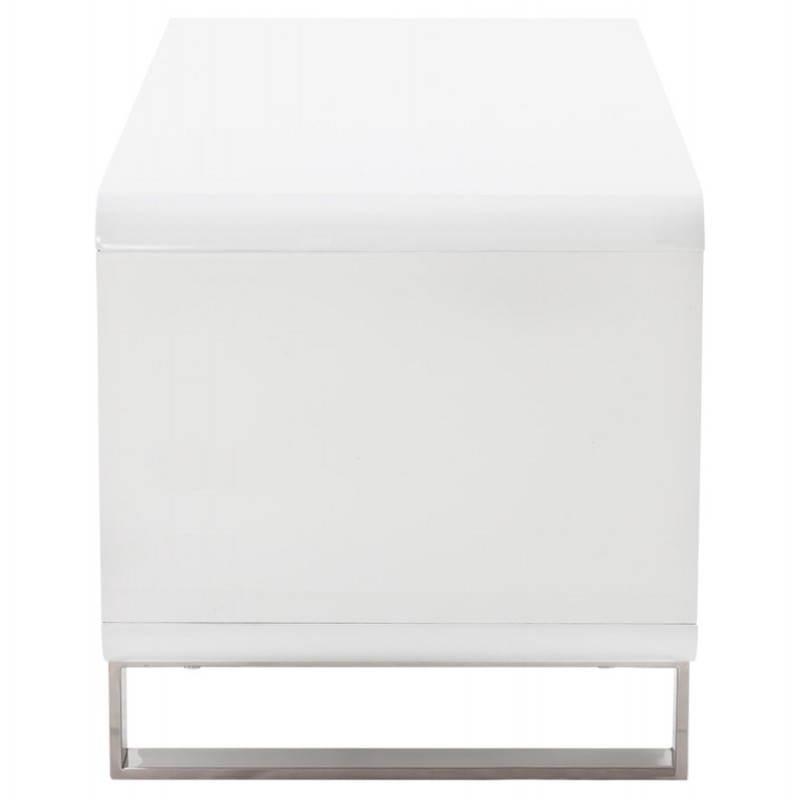 Meuble TV LIFOU en bois laqué (blanc) - image 21906