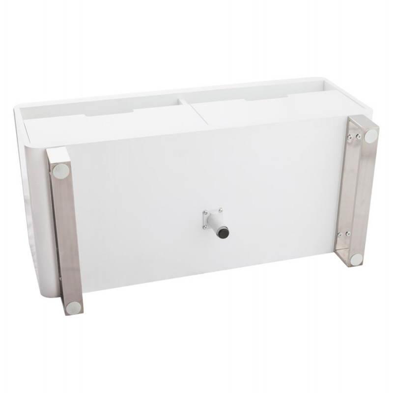 Meuble TV LIFOU en bois laqué (blanc) - image 21908