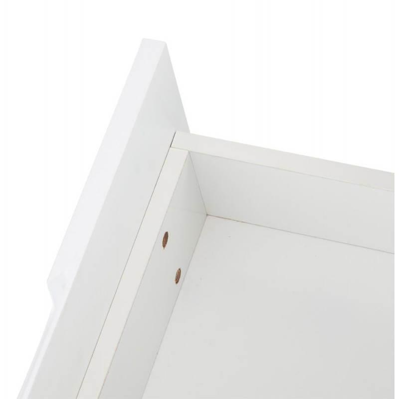 Meuble TV LIFOU en bois laqué (blanc) - image 21910