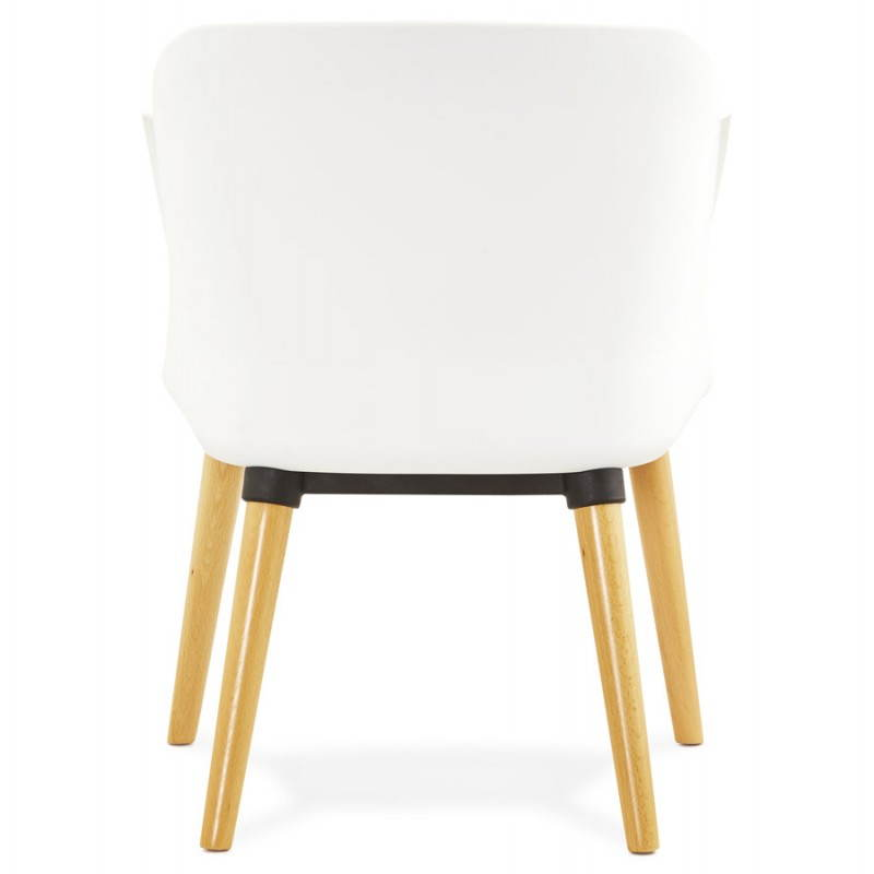 Textile armchair MAXIME style Scandinavian (dark grey) - image 22274