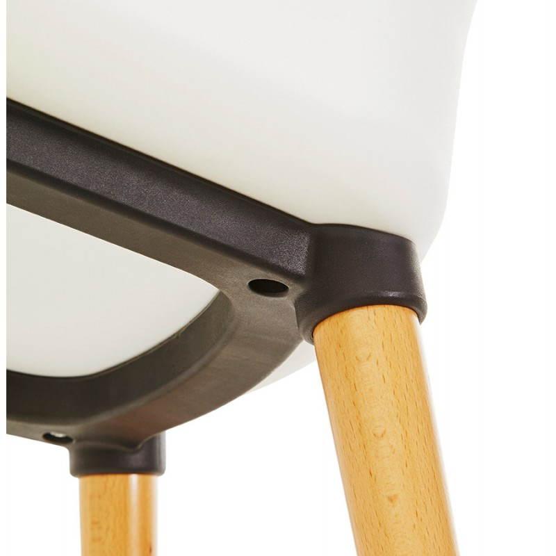 Stile di tessile poltrona MAXIME scandinavo (grigio scuro) - image 22280