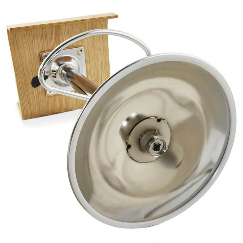 Tabouret de bar design FOURS en bois (naturel) - image 22316