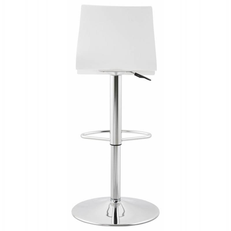Design bar Venice (white) wooden stool - image 22322