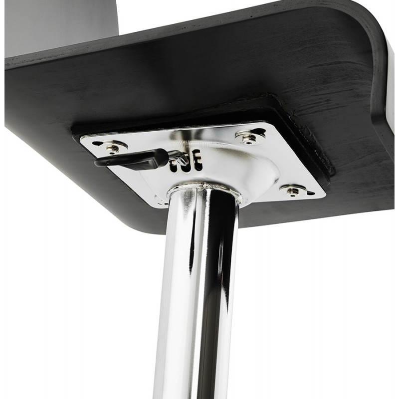Tabouret de bar design VENISE en bois (noir) - image 22344