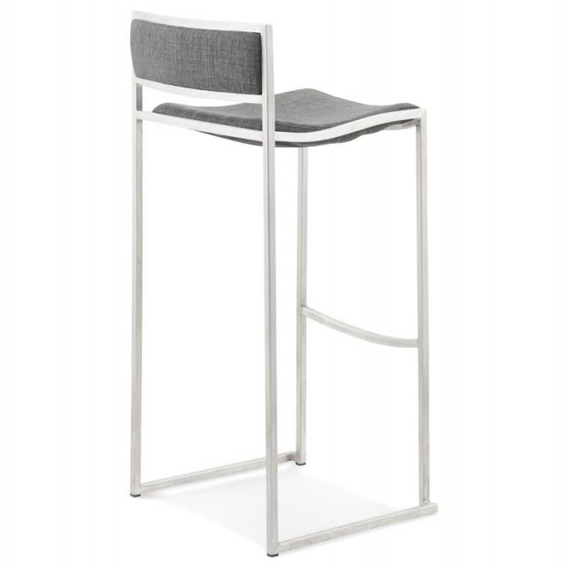 SICILY (grey) textile design bar stool - image 22368