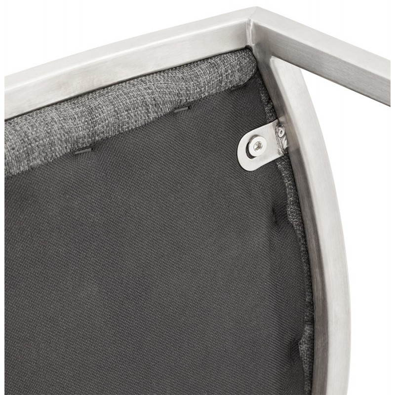 SICILY (grey) textile design bar stool - image 22376