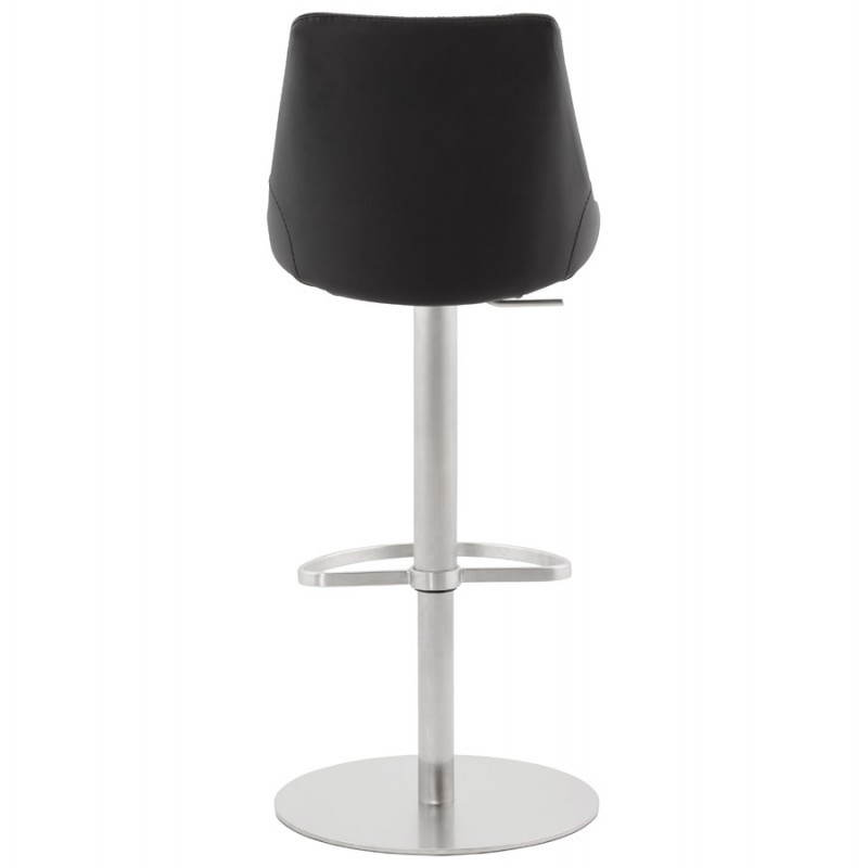 AMBRE rotating and adjustable design bar stool (black) - image 22383