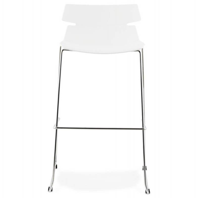 Design bar BRIO (white) polypropylene stool - image 22443