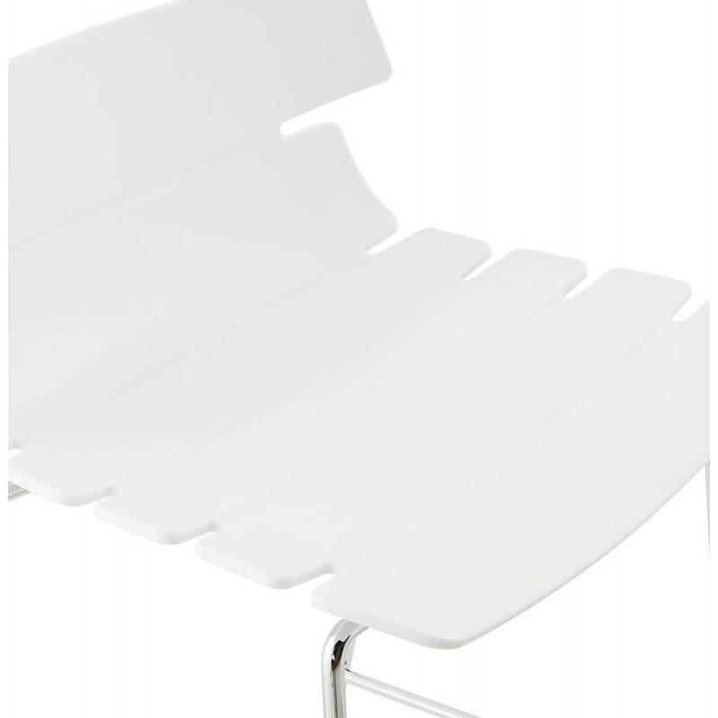 Design bar BRIO (white) polypropylene stool - image 22447