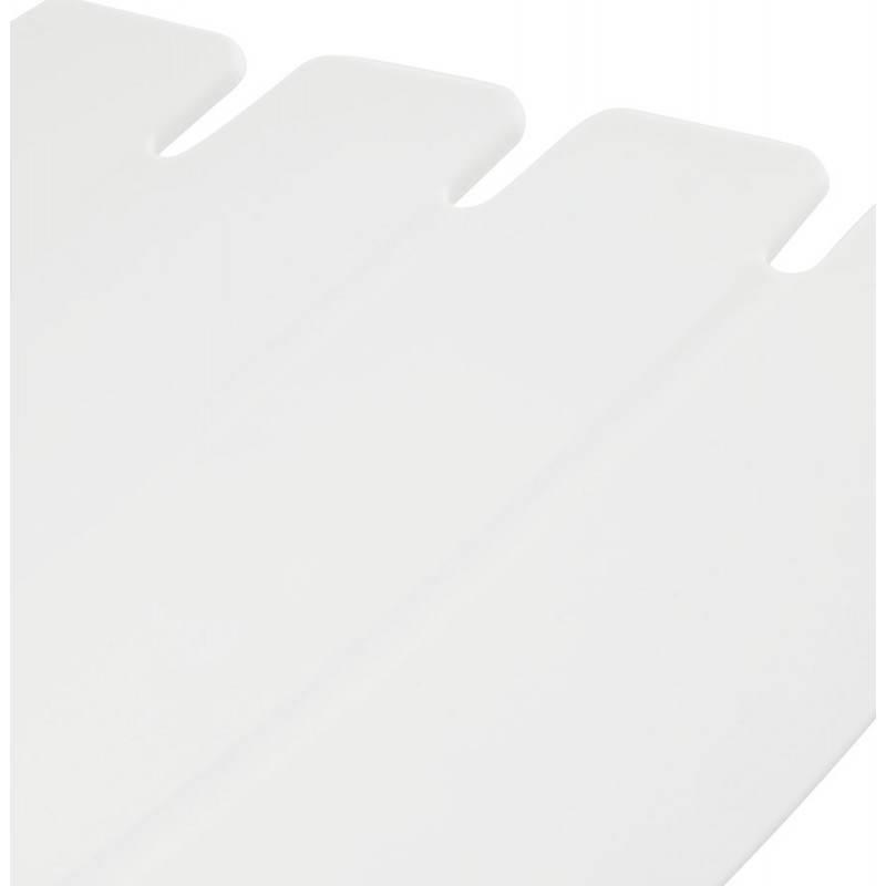 Design bar BRIO (white) polypropylene stool - image 22448