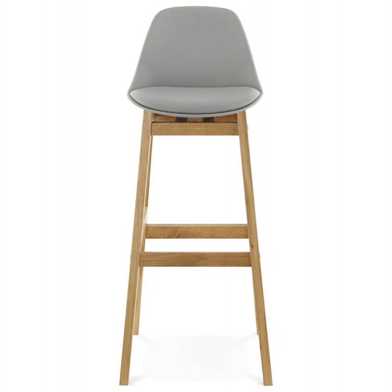 tabouret de bar chaise de bar design scandinave florence gris. Black Bedroom Furniture Sets. Home Design Ideas