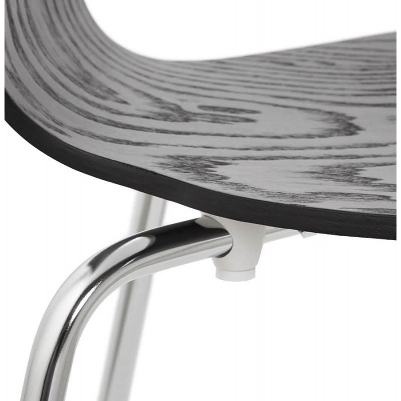 Chaise polyvalente CATANE en bois (noir) - image 22485