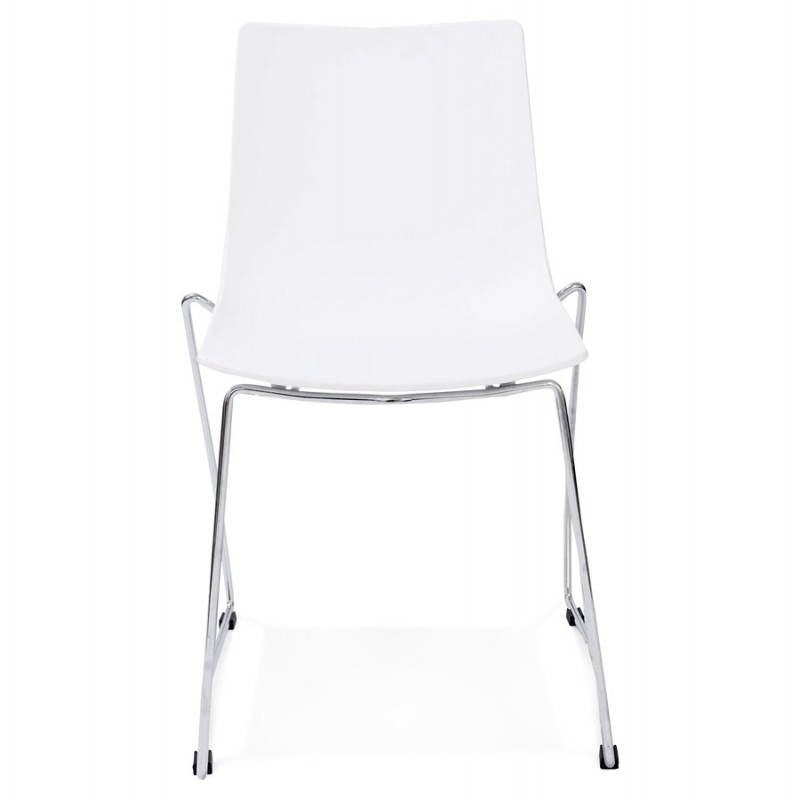 Design chair and modern NAPLES (withe) - image 22605