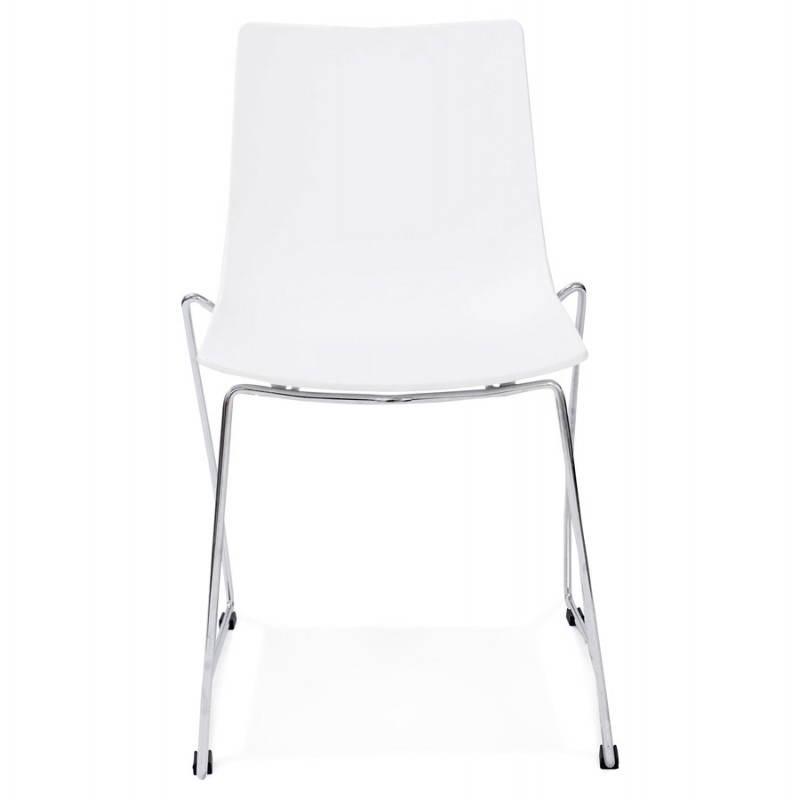 Chaise design et moderne NAPLES (blanc) - image 22605