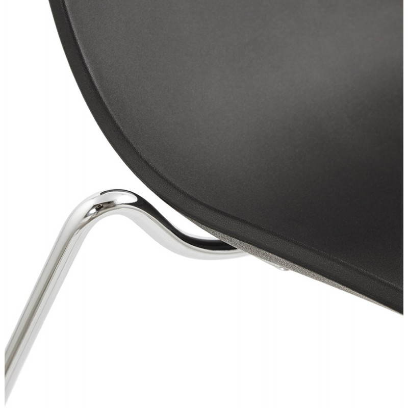 Diseño de silla y moderno Nápoles (negro) - image 22706