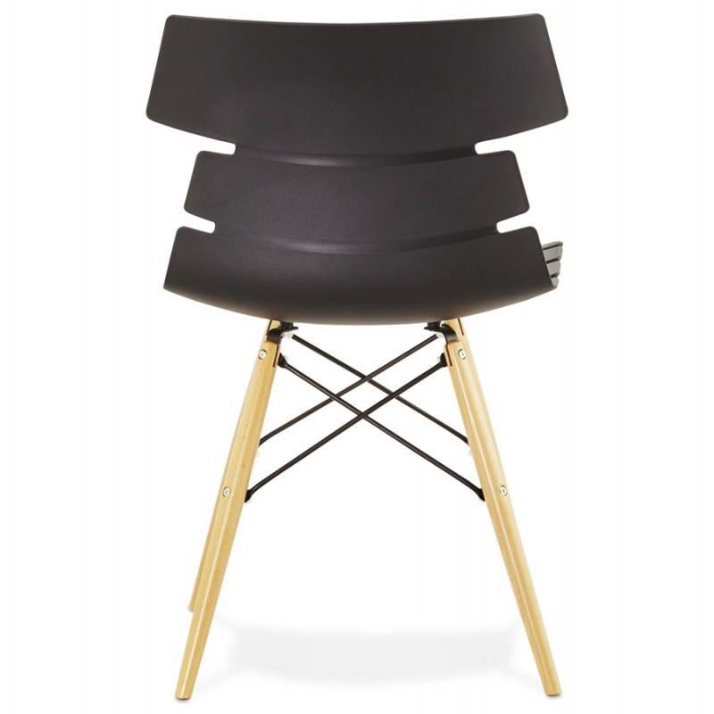 Original Chair Style Scandinavian Cony Black