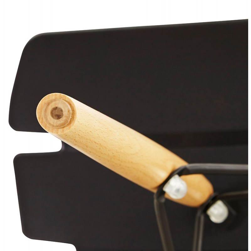 Chaise originale style scandinave CONY (noir) - image 22760