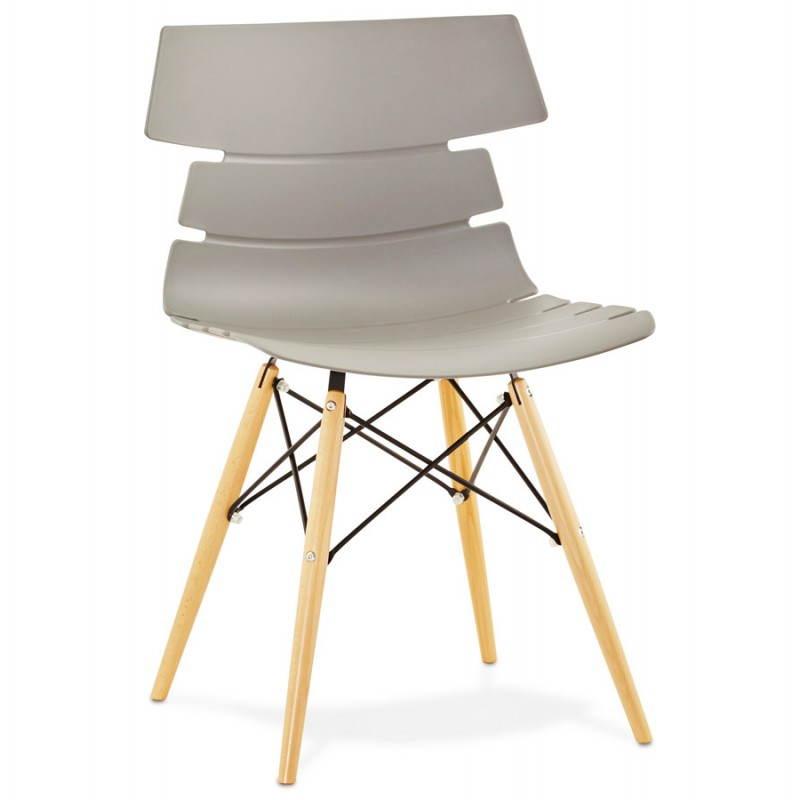 Estilo de silla original escandinavo CONY (gris) - image 22778