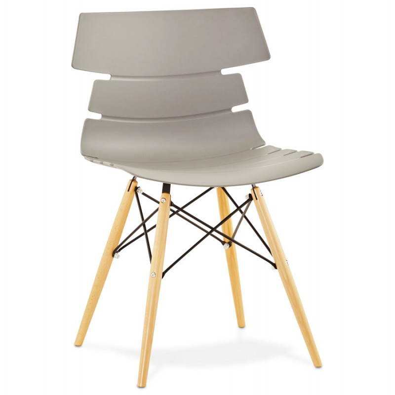 Original Stuhl Stil skandinavischen CONY (grau) - image 22778