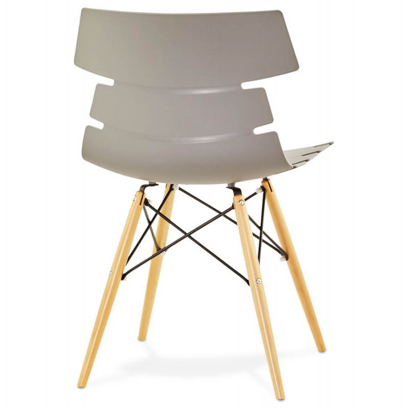 Chaise originale style scandinave CONY (gris) - image 22781