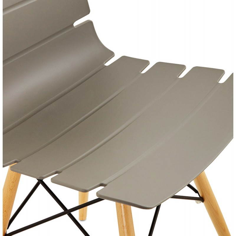 Chaise originale style scandinave CONY (gris) - image 22783