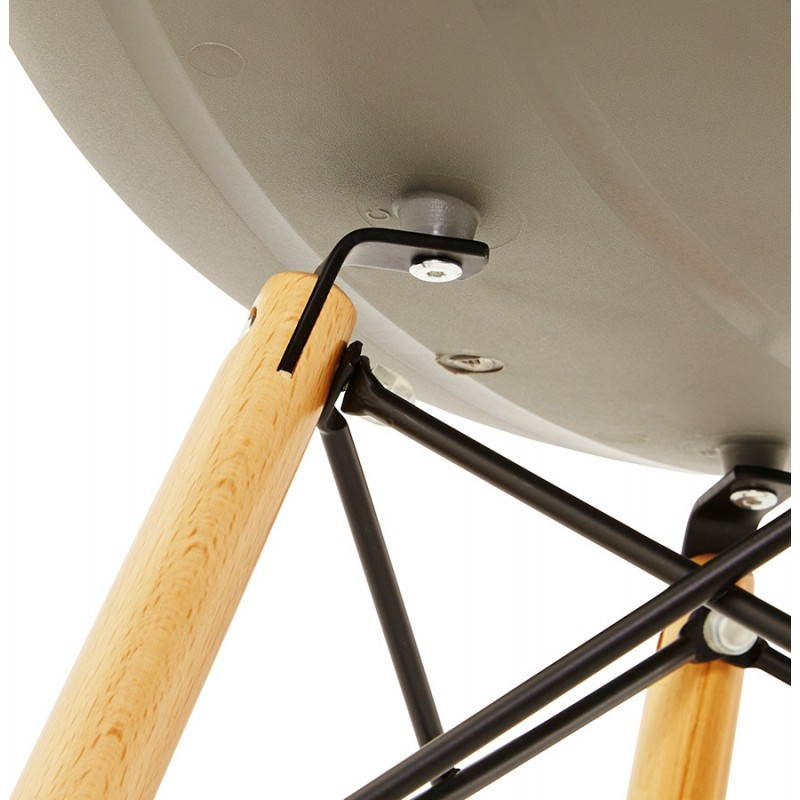 Original Stuhl Stil skandinavischen CONY (grau) - image 22788