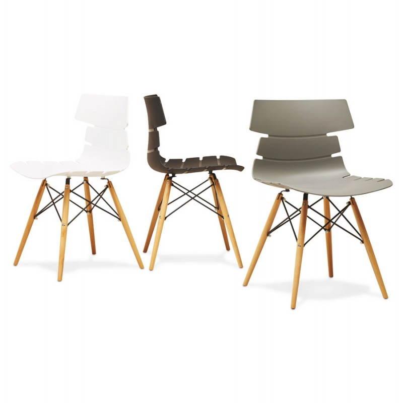 Estilo de silla original escandinavo CONY (gris) - image 22792