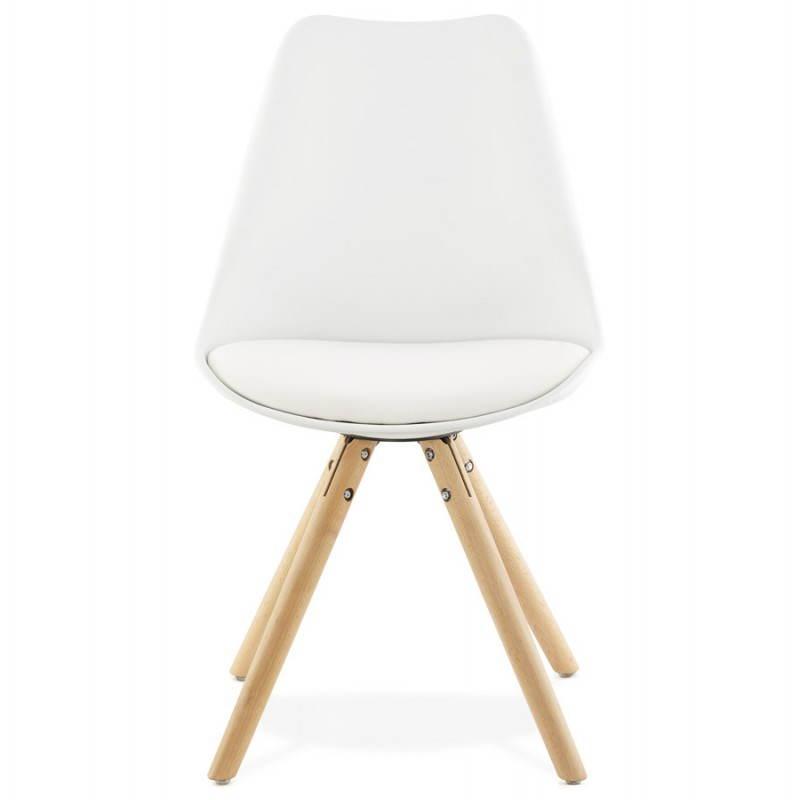 Moderner Stuhl Stil skandinavischen NORDICA (weiß) - image 22794