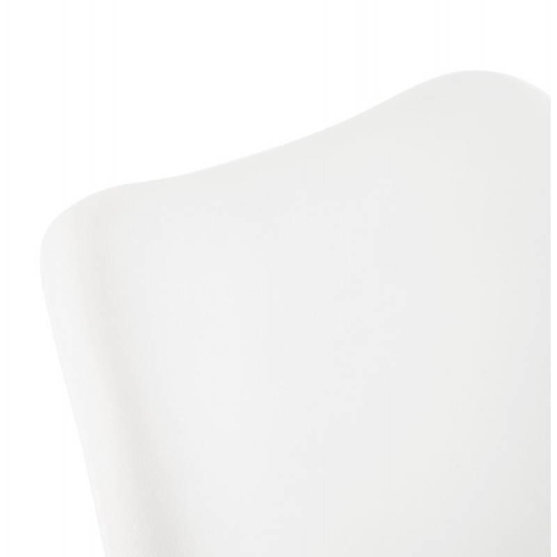 Sedia moderna stile scandinavo NORDICA (bianco) - image 22800