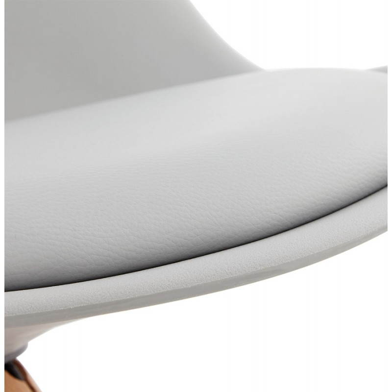 Chaise moderne style scandinave NORDICA (gris) - image 22832