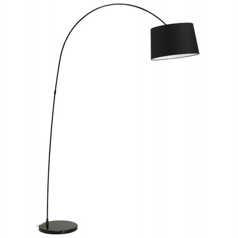 Lampada design tessuto AVERSA (nero) del piede - image 23013