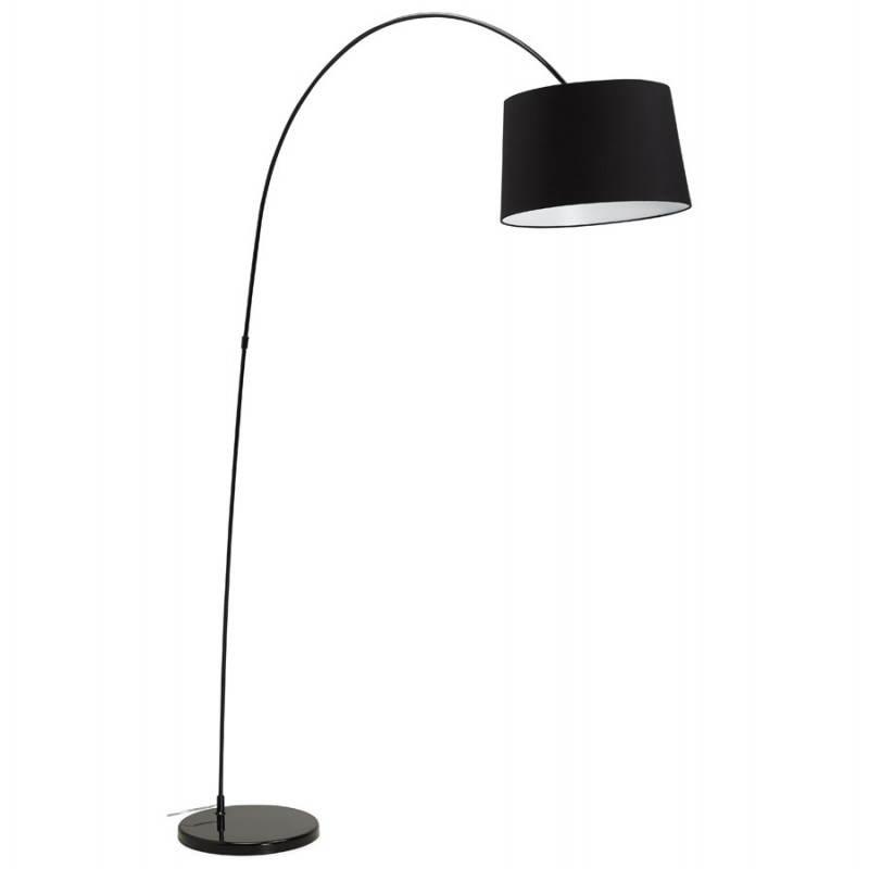 Lampada design tessuto AVERSA (nero) del piede - image 23014