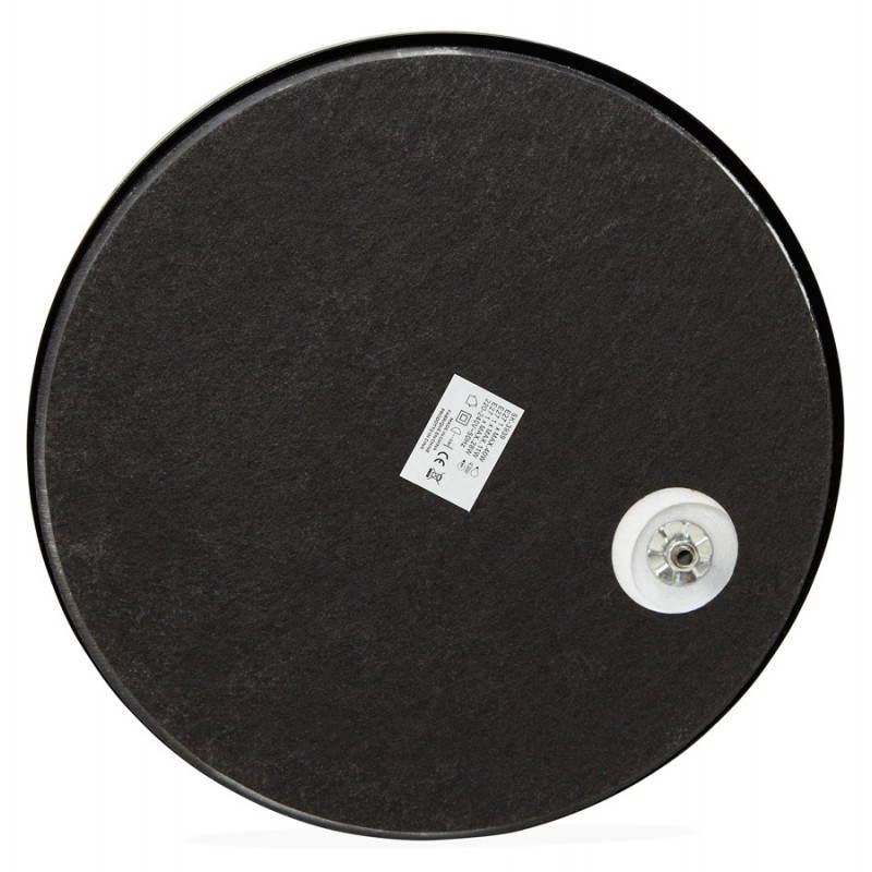 Lampada design tessuto AVERSA (nero) del piede - image 23024