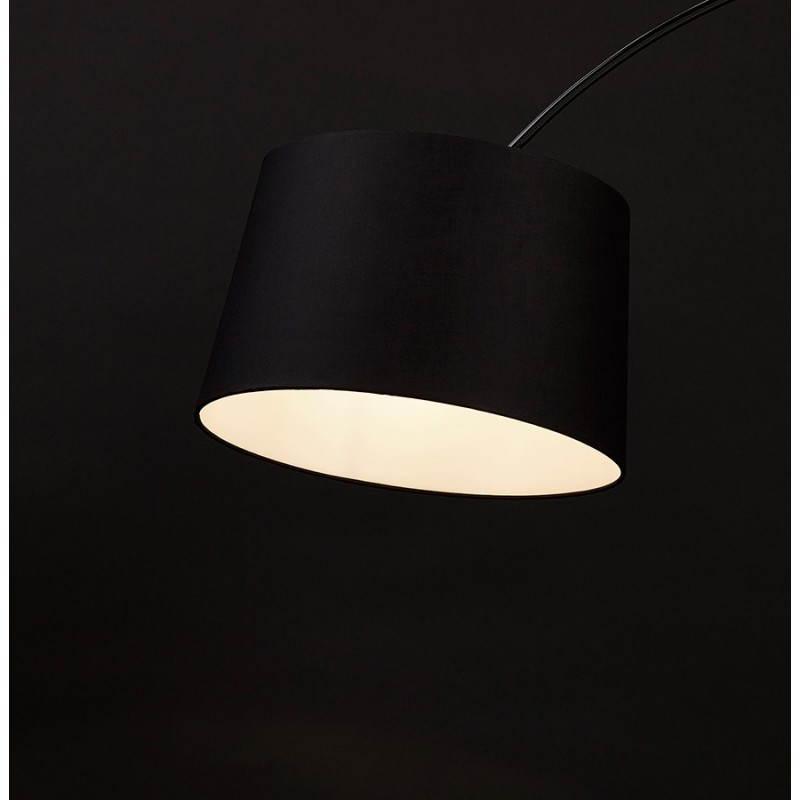 Lampada design tessuto AVERSA (nero) del piede - image 23025
