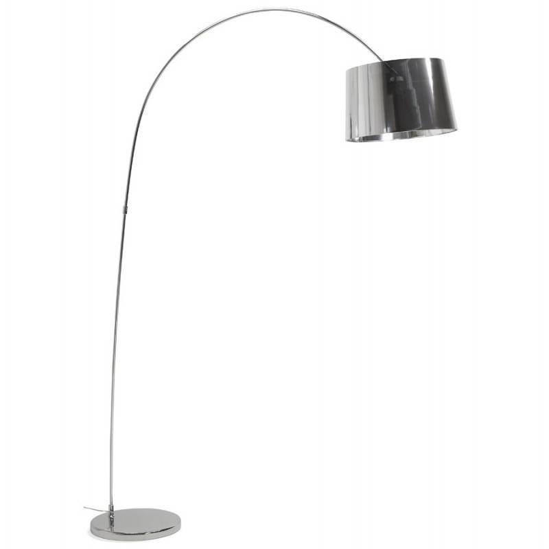 Lampe sur pied de style industriel TURIN (chromé)