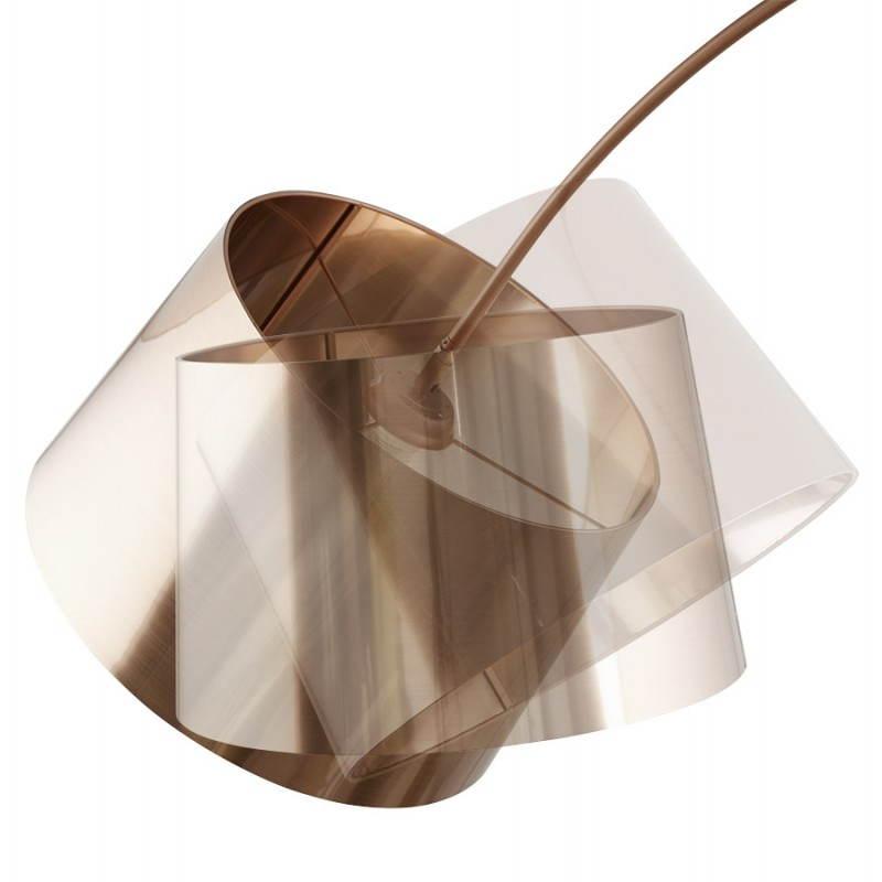 Lampe sur pied de style industriel TURIN (cuivre) - image 23043
