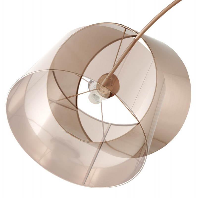 Lampe sur pied de style industriel TURIN (cuivre) - image 23044