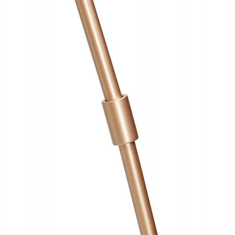 Lampe sur pied de style industriel TURIN (cuivre) - image 23050