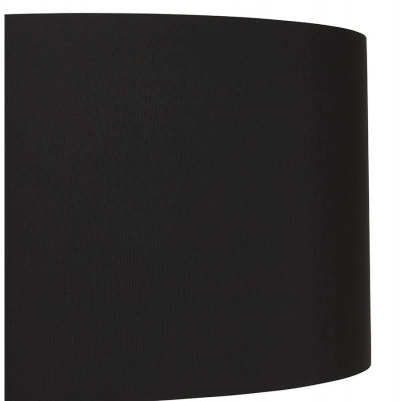 Lampada da terra di tessuto di stile scandinavo TRANI (nero, naturale) - image 23075
