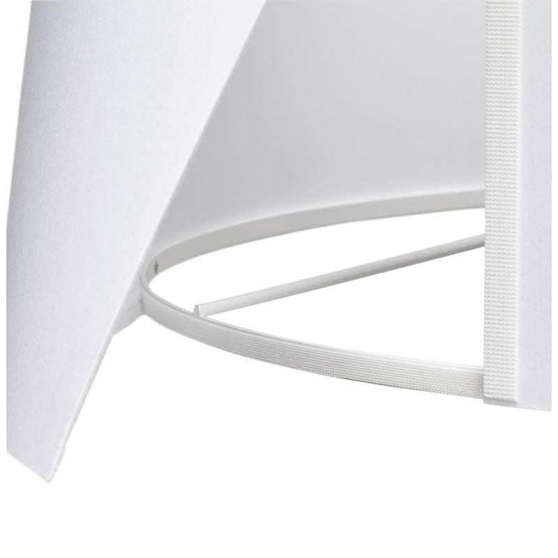 Lampe sur pied de style scandinave TRANI en tissu (blanc, noir) - image 23157
