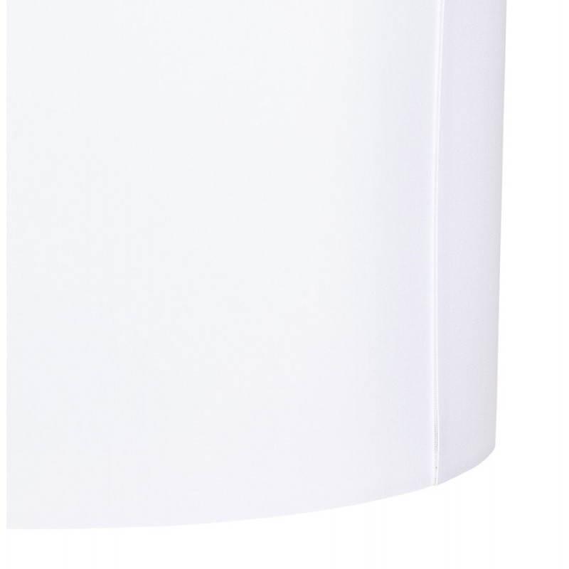 Lampe sur pied de style scandinave TRANI en tissu (blanc, noir) - image 23158