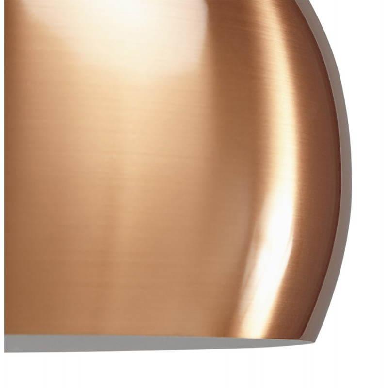 Retro hanging lamp Pavia in metal (copper) - image 23202