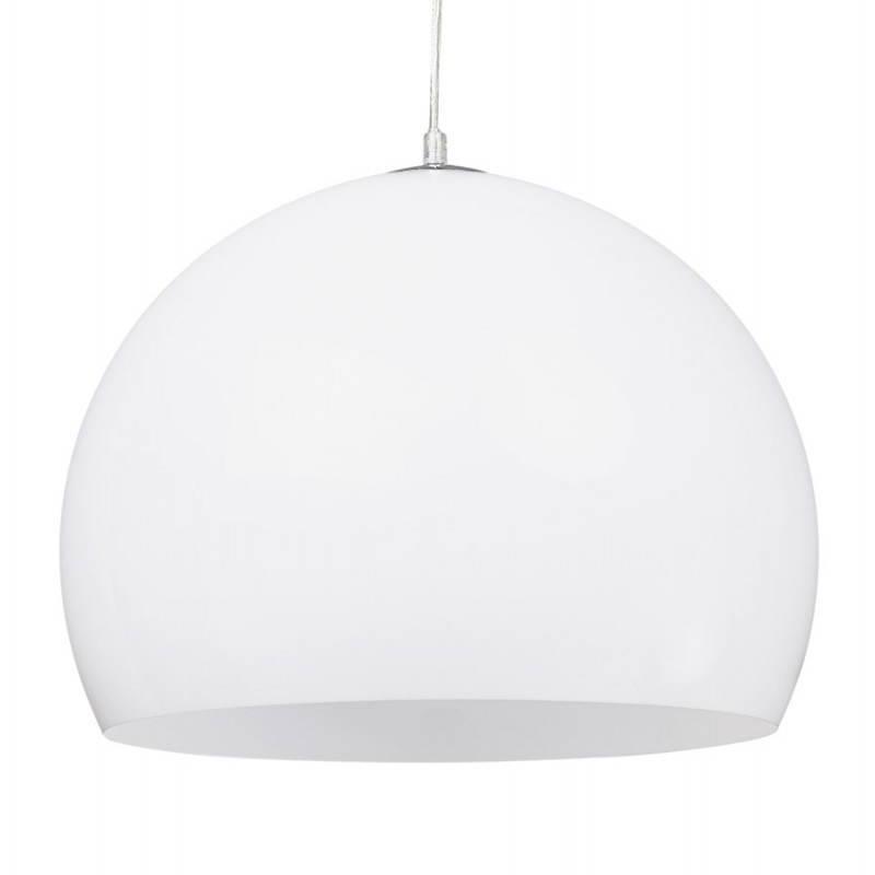 Lampe suspendue rétro et vintage ARA (blanc) - image 23261