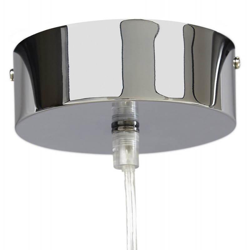 Lampe suspendue rétro et vintage ARA (blanc) - image 23267
