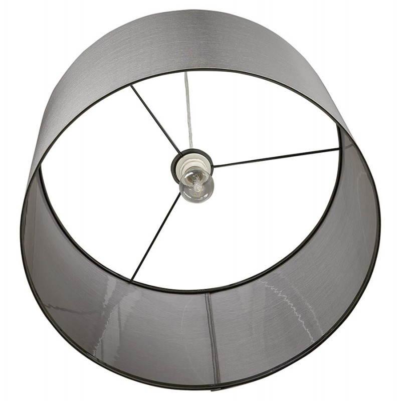 Lampe suspendue LATIUM en tissu (gris) - image 23324