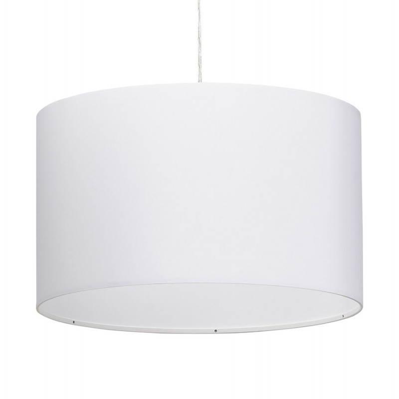 Lampe suspendue LATIUM en tissu (blanc) - image 23332