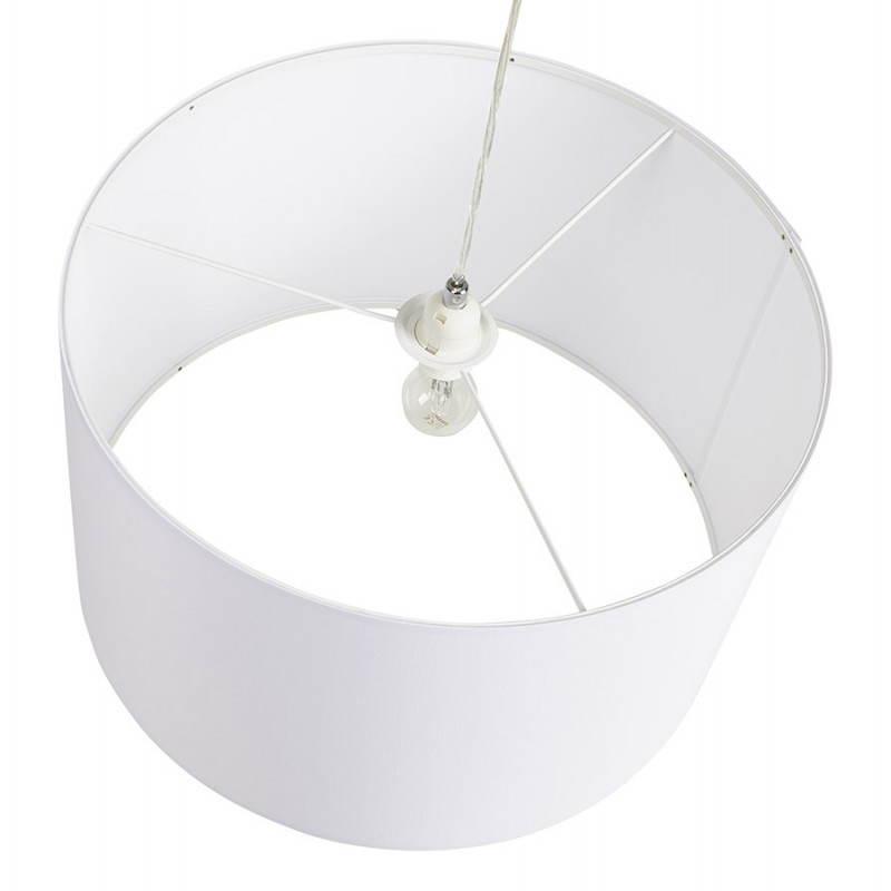 LAZIO ausgesetzt Stoff Lampe (weiss) - image 23338