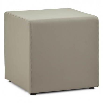 Puf poliuretano quadrato PORTICI (grigio)